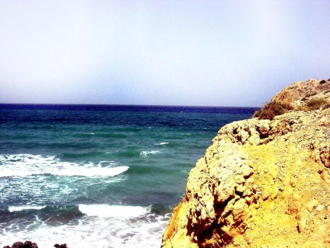 Cliff Side by AriesofMars