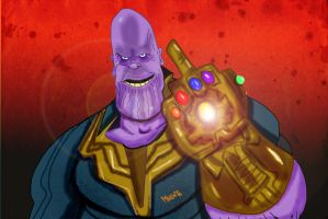 Thanos by Makinita