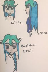 Mini sketches by legendarylady13