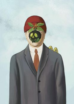 Son of Man self portrait by Hungry-Porkins