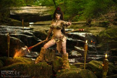 Nidalee - The will fear the Wild by Benny-Lee