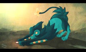 Luxray by MokkaQuill
