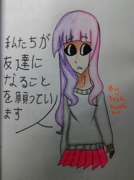 [Other OC] I hope we will be friends by YoshiNuaki20