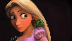 Tangled: Rapunzel by DreamaDove93