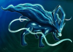 Shining Suicune