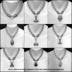 Viking Royalty Thick 9mm Chainmaille Necklace by GoodSpiritWolf