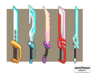 Swords! by DoubleCluepon