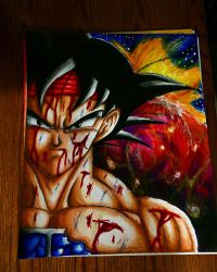Bardock tribute  by xprotector10