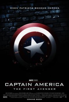 Captain America: The First Avenger by paulvictorr