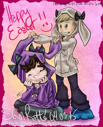 SHER - :Happy Easter 2015: by StephRatte
