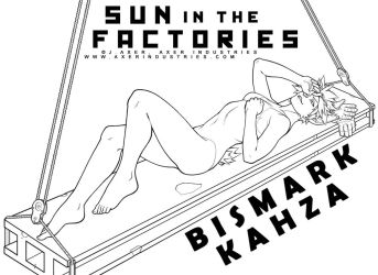 Sun in the Factories Lineart by JayAxer