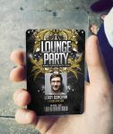 ID Card Lounge Club Badge by n2n44