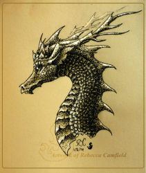 Ink Dragon 6 by chaosia