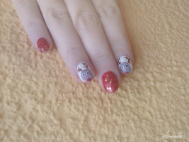 Christmas NailArt by Hrasulee