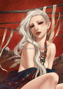 Cendre for Threads artbook by Orpheelin