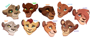 The Females of Eneo by IsharaHeart