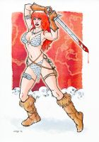 Red Sonja by ChristineAltese