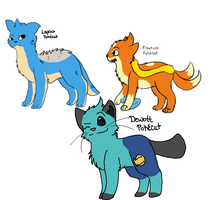 Pokemon Cat Adoptables batch 3 :OPEN: by Spiritpie