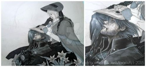 Bloodborne - Let go by Hollow-Moon-Art