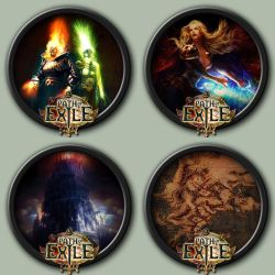 Path Of Exile Icons by kodiak-caine