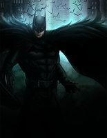 Because I'm Batman! | DC by DivineImmortality