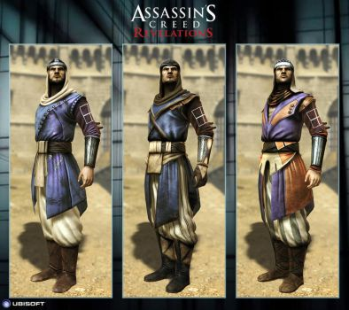 Assassin's Creed Revelations : The Vizier - Custom by Dipnusurf