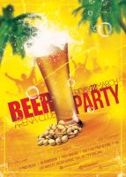 01 Beer Party Poster Template by sluapdesign