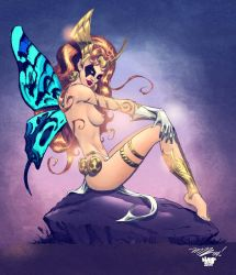Angela the Fairy Colors by nahp75