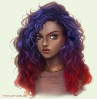 Curly Girl by TinyTruc