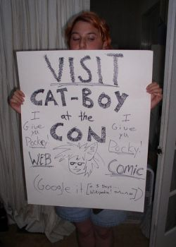 Catboy at the Con by The-original-ninja-c