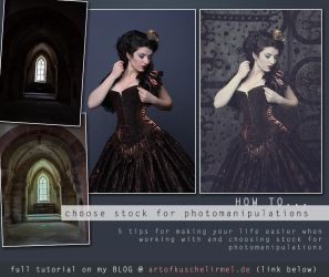 How to choose stock for photomanipulations by kuschelirmel-stock