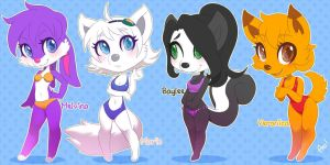 Swimmers - Tiny Furry 12 by playfurry