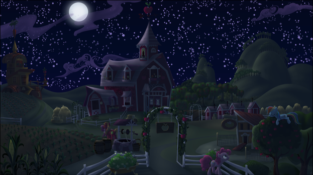 Midnight at the Apple Farm by Stinkehund