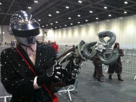 Thomas Bangalter Cosplayer With SkyHook by Collioni69