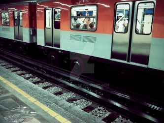 Funny Metro by meling-3d