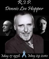 R.I.P. Dennis Lee Hopper by P-u-D