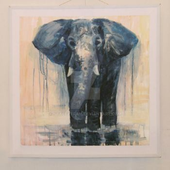 Elephant by StaceyTram