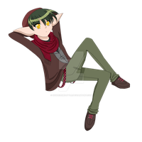 Here you Go Internet. Hipster Kisshu. by SqueezeMeLittle