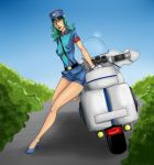 Officer Jenny Commission by lonelion4ever