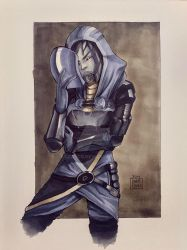 Tali'Zorah Commission by ccayco