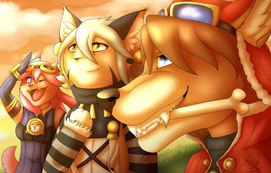 Another Morning - Solatorobo Fan Art (+Speedpaint) by NissaFY
