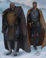 Commission: Ingmar and Donimir by HalChroma