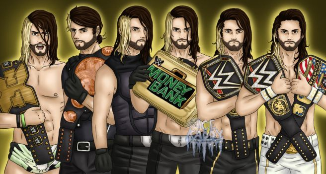 The Evolution of Seth Rollins by IceKaddy