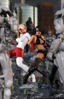 Fightgirl and Cracovia Team up by tiangtam