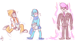 when mr. skelly's having anger issues by Naokiiii