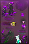 Raven Reference Sheet by Raven-Blade-Kitty