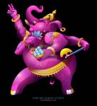 Dancing Ganesh by LuisArriola