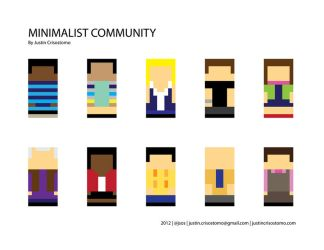 Minimalist Community Characters by jsos