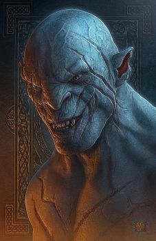 Azog the Defiler by kerembeyit