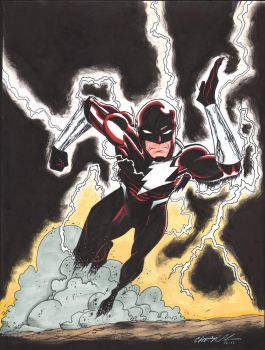 Dark Flash Commission Colors by MentalPablum